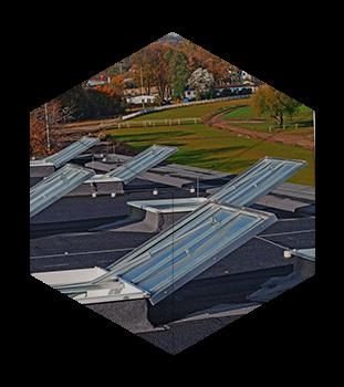 Люки димовидалення з можливістю виходу на дах