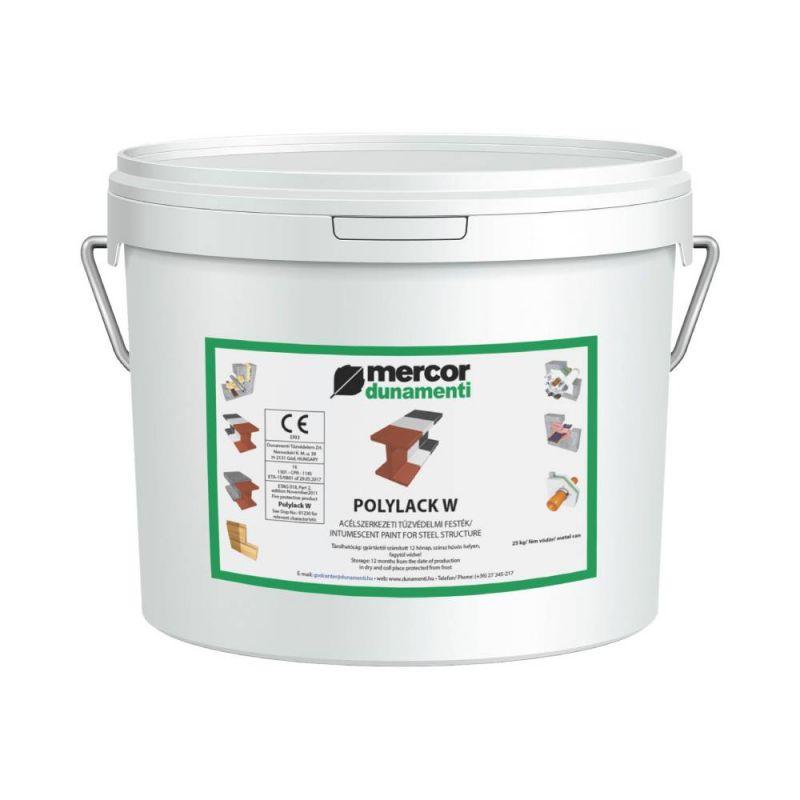 Вогнезахисна фарба на водній основі Polylack W | МЕРКОР