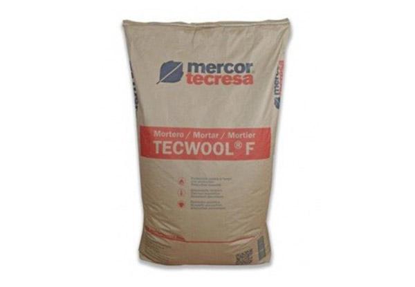 Вогнезахисна штукатурна суміш Tecwool F | МЕРКОР ✅