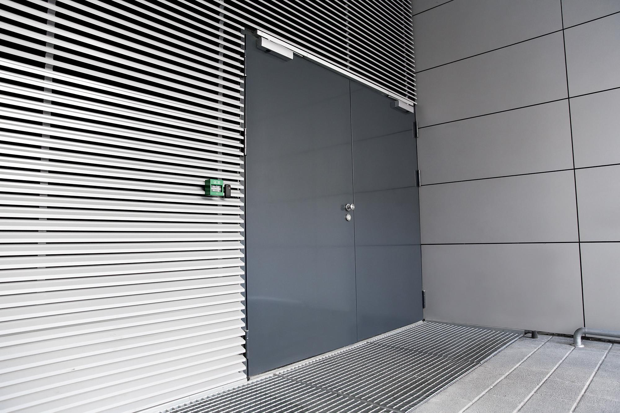 Протипожежні розпашні ворота mcr ALPE W | МЕРКОР ✅