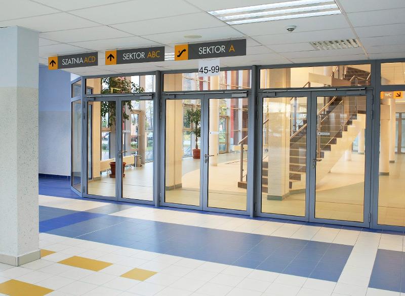 Протипожежні двері та профільні перегородки PROFILE ISO